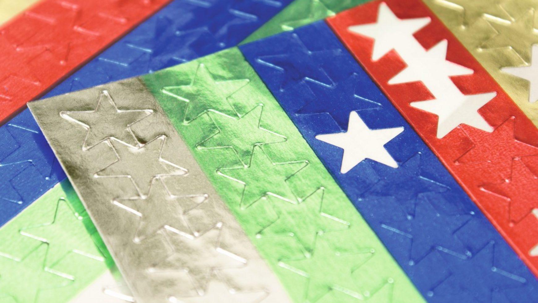 Etiquettes papier brillant